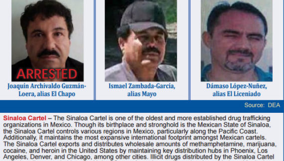 "Joaquin ""El Chapo"" Guzman Loera Has Been Extradited To The United States"