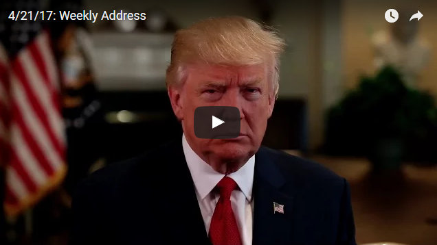 President Donald J. Trump's Weekly Address On New Optimism For American Workers